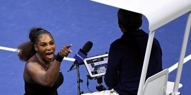 Serena Williams écope d'une amende de 17 000 dollars après la finale polémique de l'US