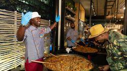 Un immense Jambalaya cuisiné sur le toit de la