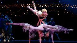 Des spectateurs du Cirque du Soleil aspergés d'huile
