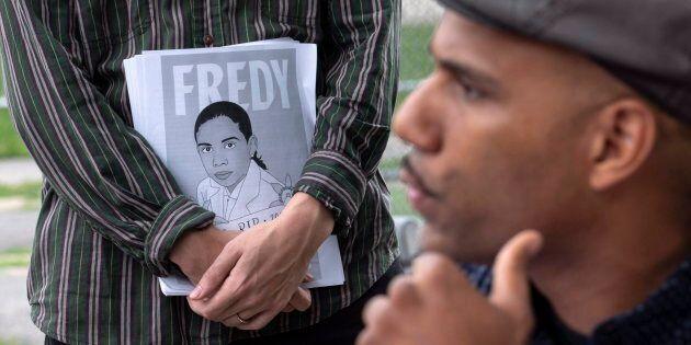 Fredy Villanueva fera enfin partie de l'histoire, grâce à une plaque reprenant les faits et des citations...