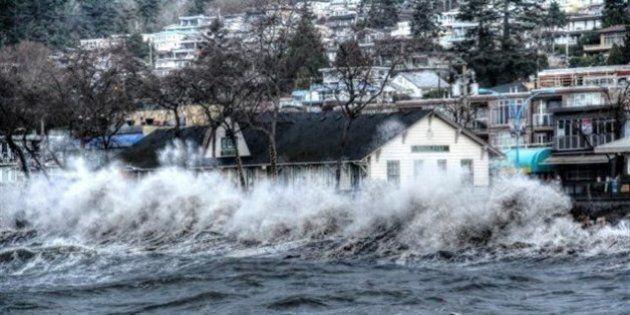 Élévation du niveau de la mer : une menace pour le Grand Vancouver, selon un