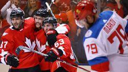 Le Canada domine la Russie