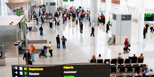 Pearson Airport, Toronto,