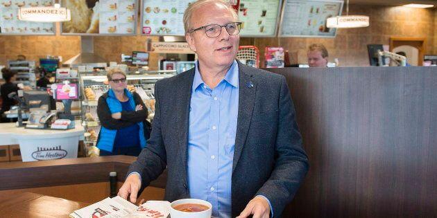 Élections 2018: La veille du vote, le chef du PQ Jean-François Lisée «reconnecte avec ses