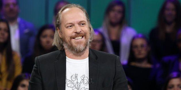 Fabien Cloutier le 30 septembre 2018, sur le plateau de «Tout le monde en