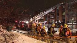 Feu à Charlesbourg : un pompier aurait ordonné de sauter du 4e