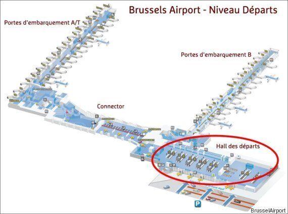 L'aéroport de Bruxelles à Zaventem, le plus grand de