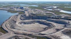 Gahcho Kué, le rêve fou d'une mine de diamants en pleine toundra canadienne