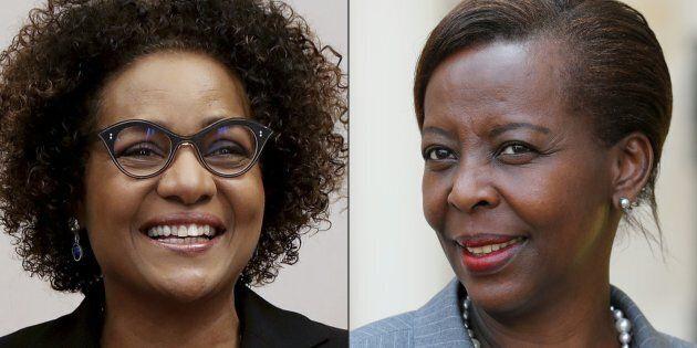 Michaëlle Jean et Louise Mushikiwabo s'affrontent pour obtenir la direction de l'Organisation internationale...