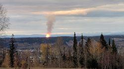 La rupture d'un gazoduc provoque un incendie majeur en