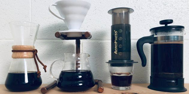 La différence majeure entre l'espresso et le café filtre est la façon dont on traite le grain moulu pour en faire du café.