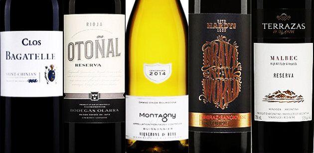 Les 5 vins de la semaine