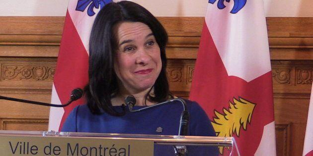 Valérie Plante annonce la création d'un bureau de projet pour la ligne rose du