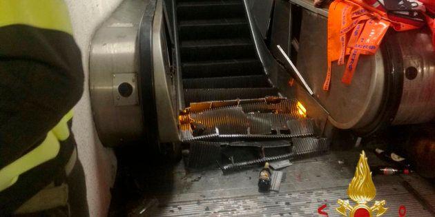 Un accident dans un escalier roulant fait une vingtaine de blessés à