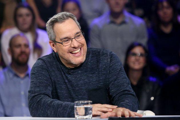 Michel Courtemanche à «Tout le monde en parle», le 14 octobre 2018