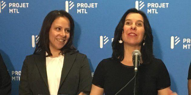 Caroline Bourgeois rejoint le parti de Valérie Plante.