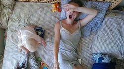 18 photos illustrant le quotidien parfois chaotique d'une jeune