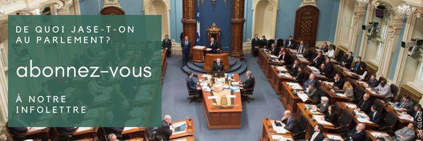Les élus caquistes assermentés, François Paradis veut devenir président de la