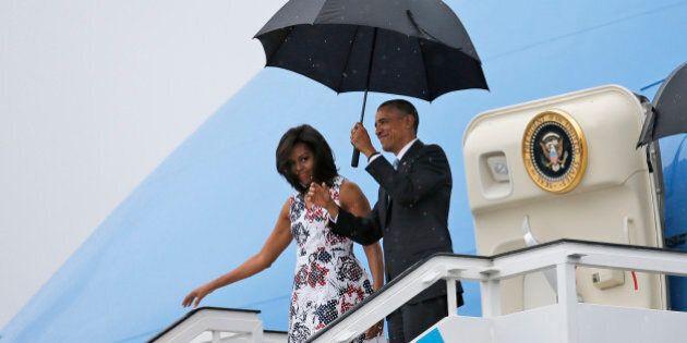 Barack Obama est arrivé à Cuba pour une visite