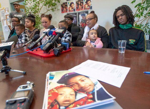La famille de Nicholas Gibbs a rencontré les médias,