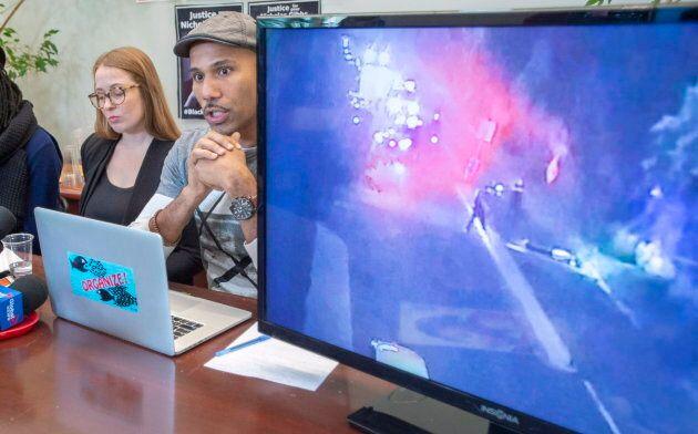 L'avocate Virginie Dufresne-Lemire et l'activiste Will Prosper ont commenté la vidéo où l'on voit les...