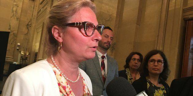 Giuliana Fumagalli, mairesse de Villeray-Saint-Michel-Parc-Extension, a été exclue du caucus de Projet...