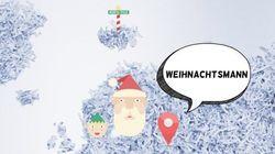 Comment on dit père Noël dans les autres langues