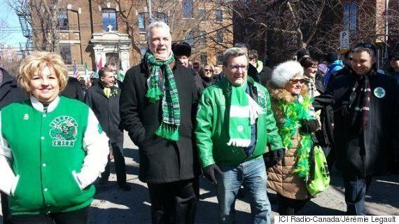Des milliers de personnes défilent pour la Saint-Patrick à