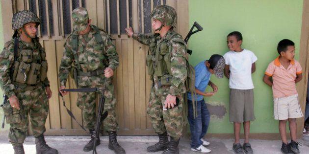 Colombie: environ 230 000 enfants affectés par la guerre depuis trois