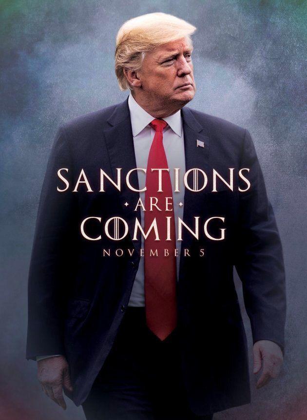 Donald Trump utilise «Game of Thrones» pour avertir