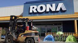 Lowe's ferme neuf magasins Rona au