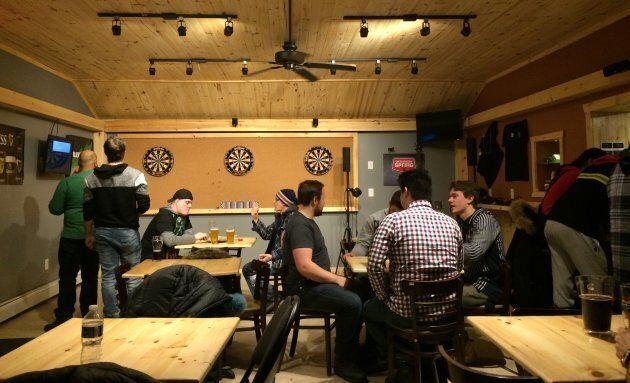 Un autre bar de Kuujjuaq: le Nuna Golf