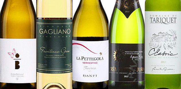 5 vins de la semaine
