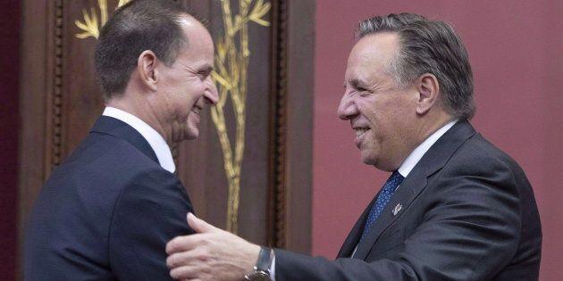 Le ministre des Finances Éric Girard déposera sa mise à jour économique le 3