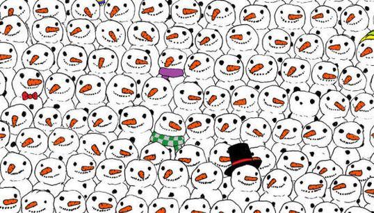 Trouverez-vous le panda caché dans cette