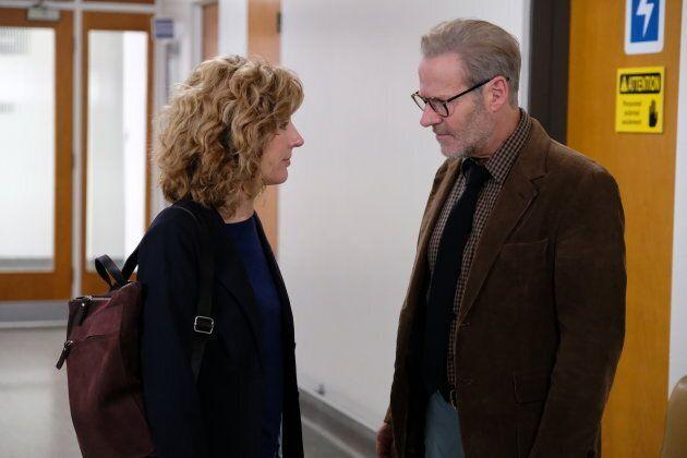 Sophie Lorain et Luc Guérin dans la deuxième saison de «Plan