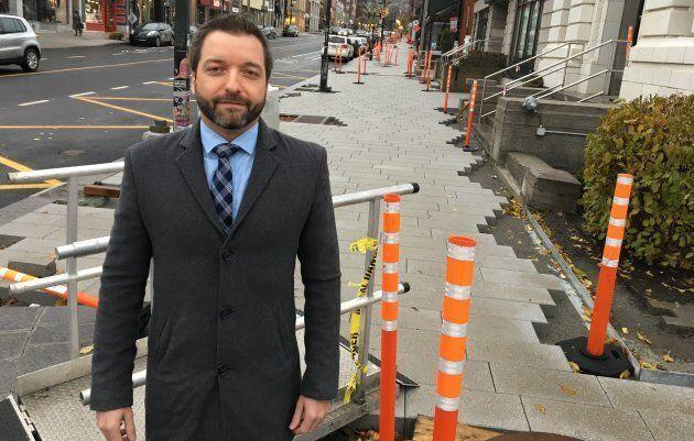Simon Gaudreault, directeur principal de la recherche nationale pour la FCEI, estime que la Ville peine encore à bien gérer les changiers de construction.