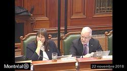 Un élu montréalais rabroué pour un commentaire
