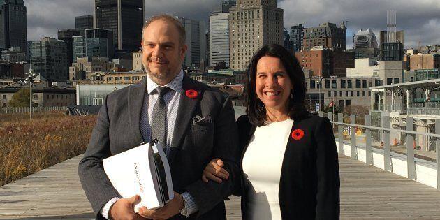 La mairesse Valérie Plante et le président du comité exécutif, Benoit Dorais, ont présenté un budget...