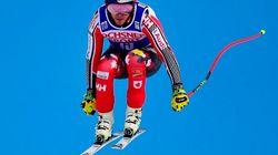Le skieur québécois Erik Guay annonce qu'il prend sa