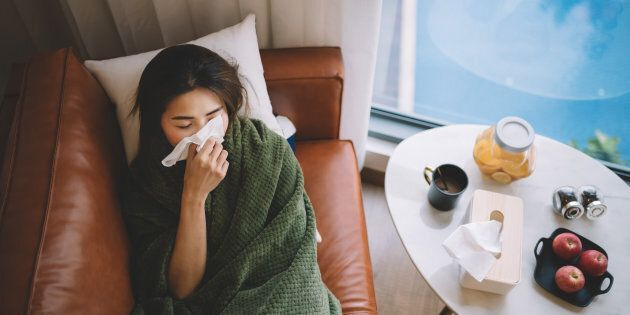 Parmi les maladies qui sont d'origine virale, mais pour lesquelles on prescrit souvent des antibiotiques...