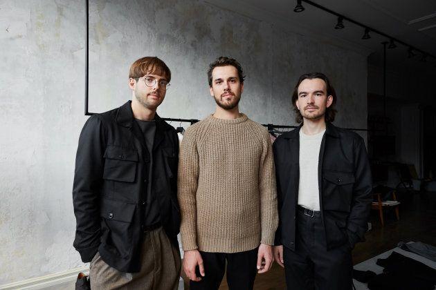De gauche à droite : William Lessard, Marc-André Garand et Julien