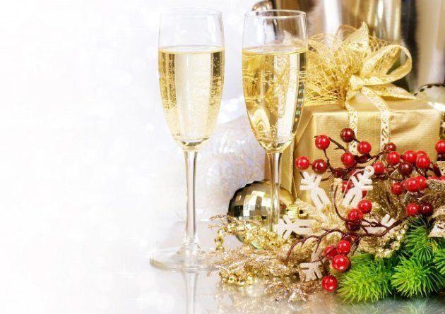 Cadeaux et champagne