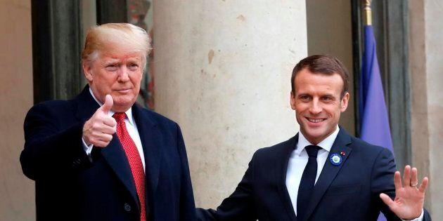 Donald Trump est arrivé en France pour les commémorations de