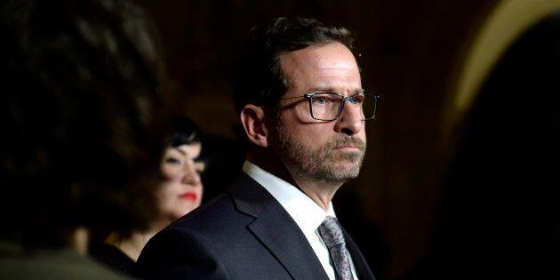 Yves-François Blanchet brigue la chefferie du Bloc