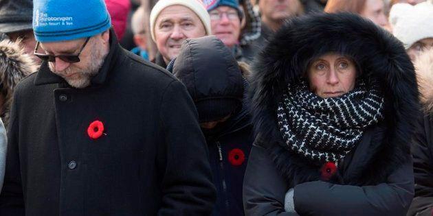 Les Montréalais honorent la mémoire des soldats morts au