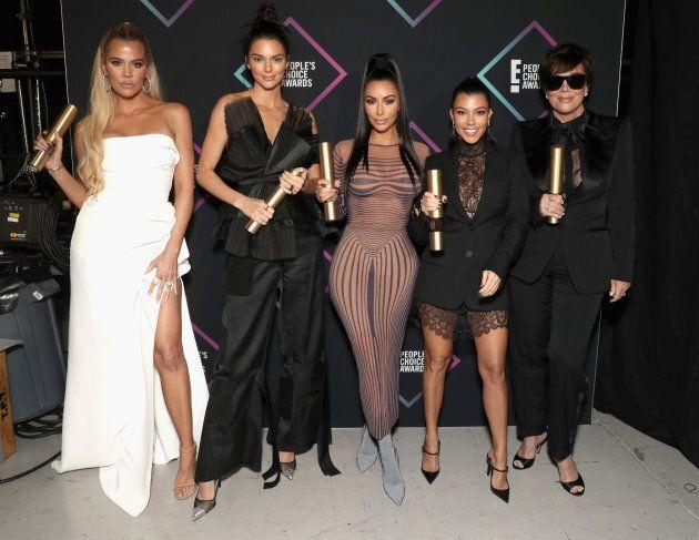 Les Kardashian ont volé la vedette aux People's Choice