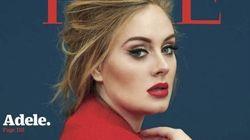 Adele magnifique en couverture du TIME