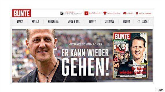 Les affirmations sur Michael Schumacher