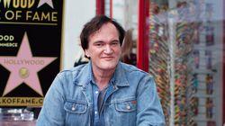 Quentin Tarantino reçoit son étoile à